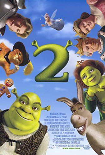 (Movie Posters 27 x 40 Shrek 2)