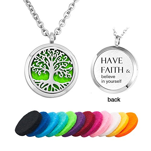 Third Time Charm Aromatherapy Jewelry Essential Oil Diffuser Necklace