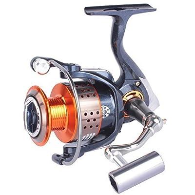 Pisfun New GT4000 Metal Spinning Fishing Reels Saltwater Carp Reels 11BB Carp Fishing Wheel Spinning Reel CNN Handle by Pisfun