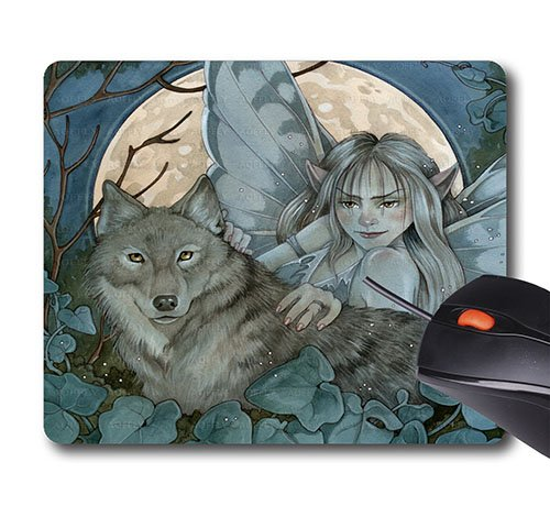 AOFFLY Linda Ravenscroft - Fairy Of The Night - Non-Slip Rubber Mousepad Gaming Mouse Pad