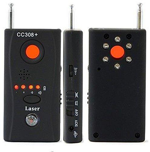Towallmark CC308+ CC308+ Multi-Detector Automatic Detection Full-Range All-Round Detector For Hidden Camera / IP Lens/ GMS BUG / RF Signal Detector Finder