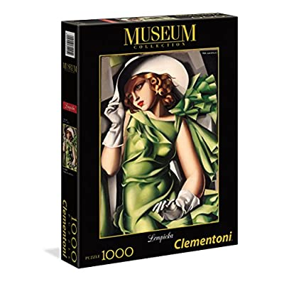 Clementoni 39332 Museum Collection Puzzle Tamara De Lempicka Ragazza In Verde 1000 Pezzi