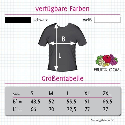 T-Shirt mit Städtenamen - i Love Bad Bergzabern - Herren - unisex - schwarz XXL
