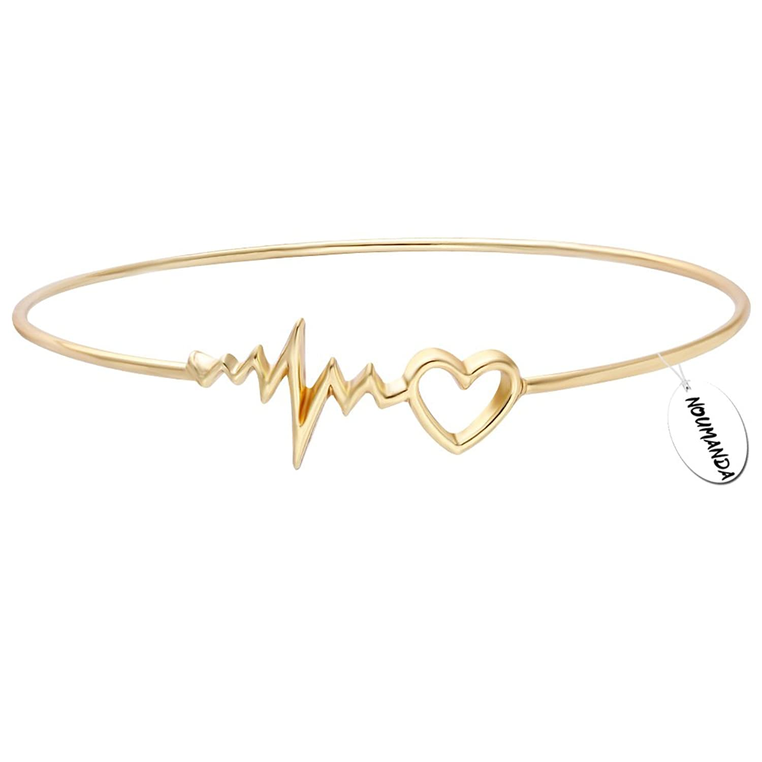 bracelet steel copper holistic link product cardiac stainless mens magnets magnetic min clad
