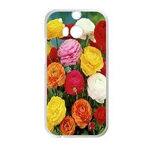Creative Phone Case Ranunculus asiaticus For HTC One M8 H567144