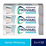 Beauty : Sensodyne Pronamel Gentle Whitening, Sensitive Toothpaste, 4 oz (Pack of 3)