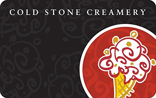 Extra $10 off promo code for Cold Stone Creamery Gift Cards at Amazon.com