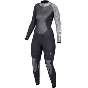 Amazon.com: Aqualung Mujer Hydroflex overol de 3 mm.: Sports ...