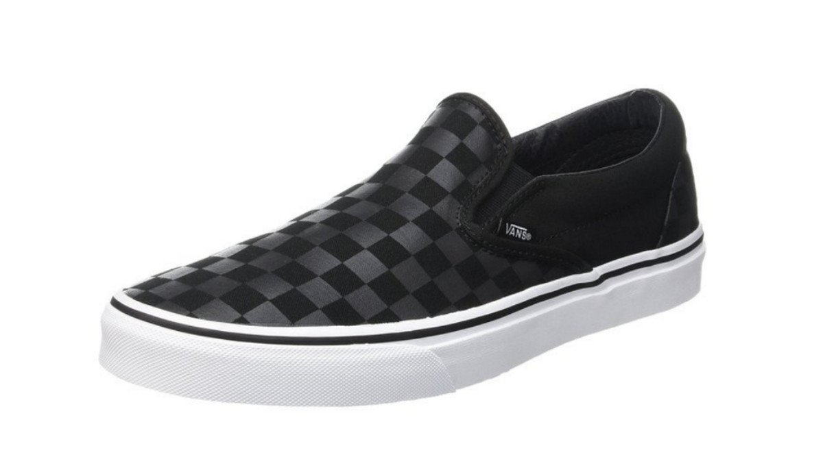[バンズ] VANS スニーカー Classic Slip-on B01KBGM9FQ 6.5 B(M) US Women / 5 D(M) US Men|Black/Black Checkerboard Black/Black Checkerboard 6.5 B(M) US Women / 5 D(M) US Men