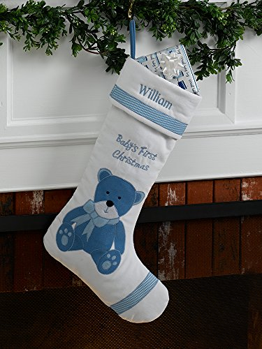 - Baby's First Personalized Christmas Stocking Boy