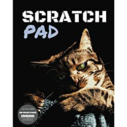Scratch Pad: Journal Notebook (Cat Journal Notebook for School or Home) (Volume 17)