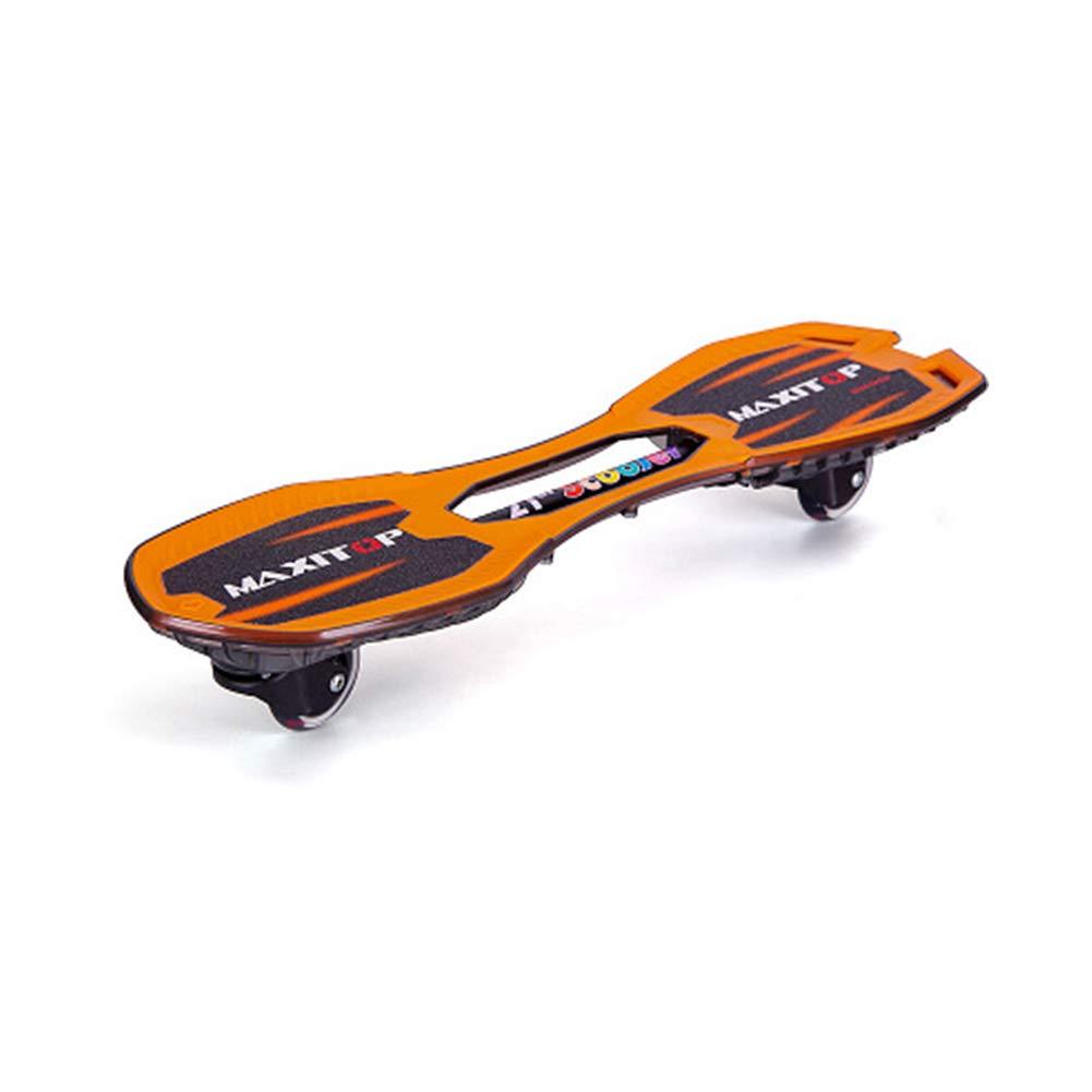 格安販売の ZX 子供 ドラゴンボード 活力板 アダルト 2ラウンド B07H2FDNJ7 スイング ドラゴンボード 若者 アダルト スケートボード 第2ラウンド フラッシュ ペダル 男の子 6歳 (色 : Orange) B07H2FDNJ7 Orange, TROIKA Design Store:bd2f6895 --- a0267596.xsph.ru