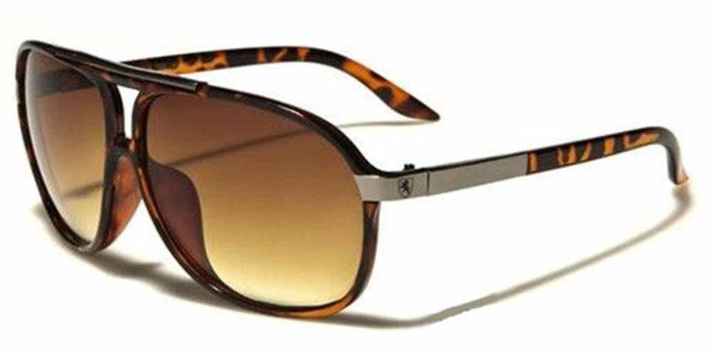 efdbfd947c Amazon.com  Mens Womens Retro Vintage 80s Classic Fashion Designer Aviator  Sunglasses Black-Tortoise shell  Home   Kitchen