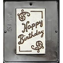 Happy Birthday Card Chocolate Candy Mold 553