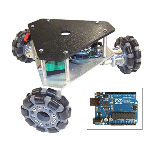 SuperDroid Robots Programmable Triangular Omni Wheel Vectoring Robot - IG32 DM by SuperDroid Robots