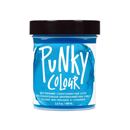 JEROME RUSSELL Punky Colour Hair Color Crème Lagoon Blue 3.5 oz Permanent Hair Dye Powder