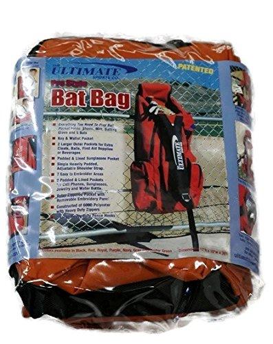 テキサスオレンジソフトボールProスタイル5 Bat機器13ポケットGear Bag ( Large 36 x 12 x 10フェンス、フック、軽量/耐久性300dナイロン) B01BDV1O3G