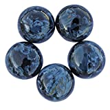 4MM Round Shape 10 Pcs Lot Of Good Quality Natural Pietersite Cabochon, Calibrated, Gemstone Supplies