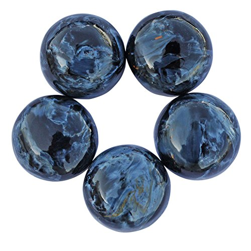 8MM 5 Pcs Lot Round Shape, Super Quality Natural Pietersite Cabochon, Calibrated, Loose Gemstone