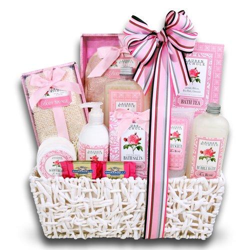 A Dozen Roses For You Spa Gift Basket