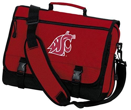 Broad Bay Washington State Laptop Bag Washington State University Messenger Bag or Computer Bag