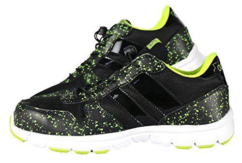And Mens' Shoes Breathable Green Black Steel Work Sneakers Toe Lightweight Safety Ddtx vq5BwB
