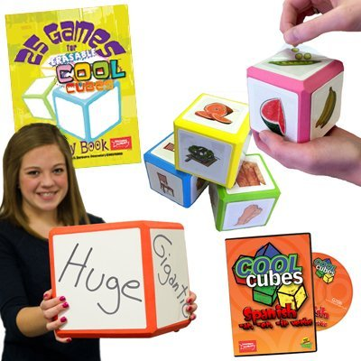 Spanish Mega Set: Erasable Cool Cube Set of Everything by Teacher's Discovery