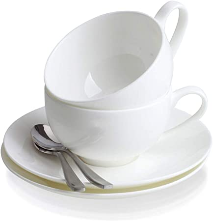 Porcelain Coffee Cup And Oval Saucer For Banquet Buy