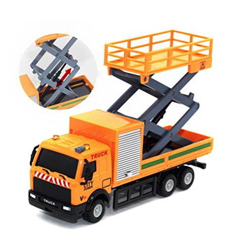 Gotd 1:43 Racing Bicycle Shop Truck Toy Car Carrier Vehicle Garbage (Alex Dog Carrier)