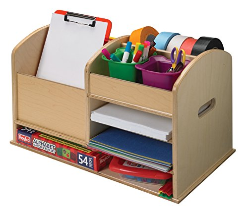 Childcraft Tabletop Writing Supplies Center, 21-1/4 x 12 x 12-3/8 - Center Writing