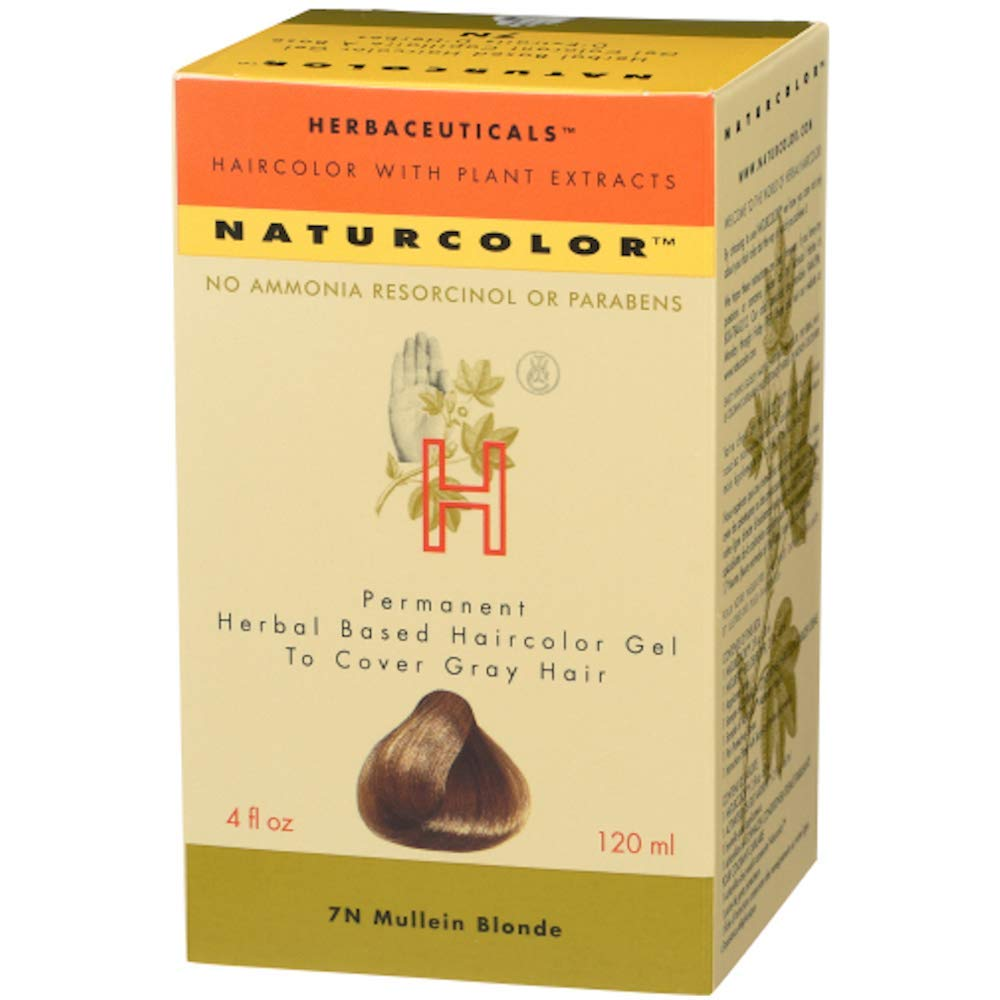 naturcolor Haircolor Hair Dye, 7N - Mullein Blonde, 4.08 Fl Oz
