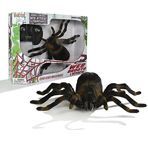 Fantasma Toys R.C. Creepers Web Attack Tarantula with Retractable Web and Life Like Movements (Super Scary Stuff)
