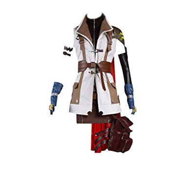 Lightning Final Fantasy Cosplay Costume