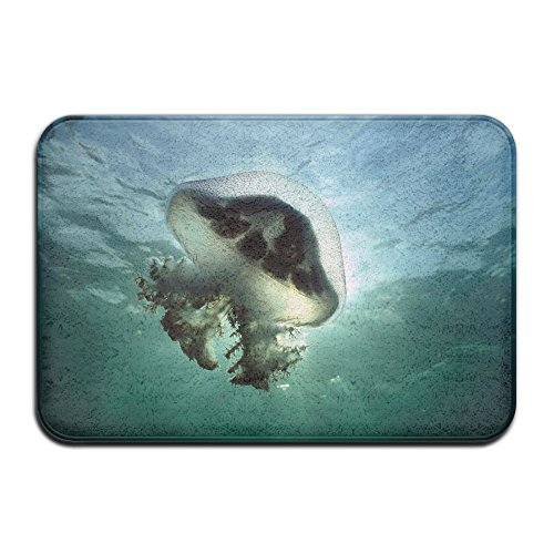 DDIAN Mauve Stinger Jellyfish Australia Wide Non Slip Mat, Kitchen, Toilet, Laundry, Bedroom Or Pet Mat. (Outdoor Flooring Vinyl Australia)