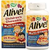 NATURE'S WAY ALIVE!MULTI-VIT,CHEW,KIDS, 120 CHEW