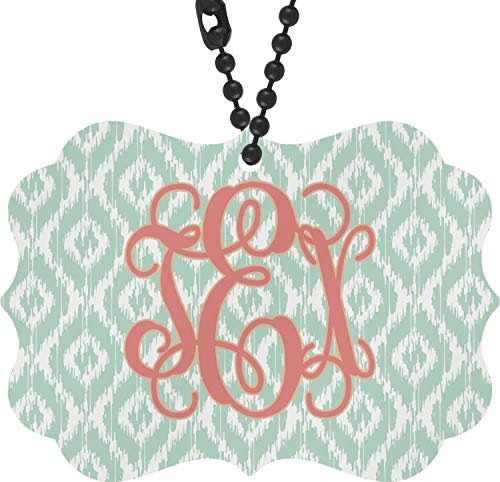 RNK Shops Monogram Rear View Mirror Charm (Personalized)
