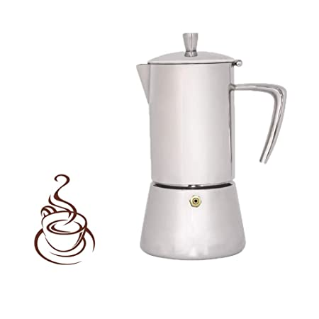 Wenzhihua Taza de Filtro de Cafe Moka Pot Mocha Coffee Pot ...