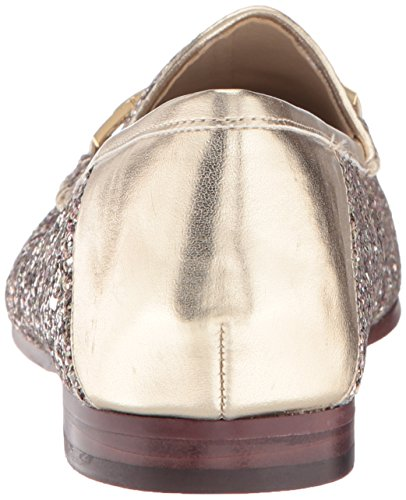 Loraine Women's Loafer Chunky Gold Molten Edelman Glitter Sam qaz6Ewxn77
