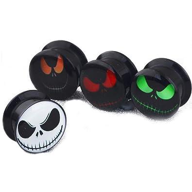 Amazon.com: 4 pares de dilatadores de acrílico para oreja ...