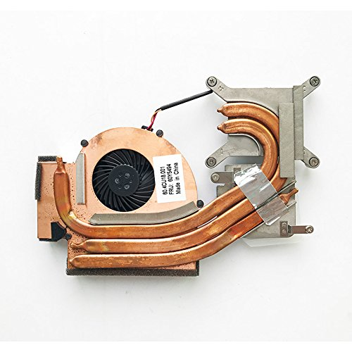 HK-part Replacement Fan for IBM Lenovo ThinkPad W510 T510 Cpu Cooling Fan with Heatsink FRU 60Y5494 60Y5493 3-Wire 4-Pin