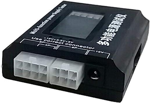 Digital LCD PC Computer PC Power Supply Tester 20//24 Pin SATA HDD Testers