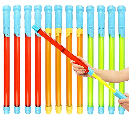 12 Pack Water Blaster Soaker Gun Super Long Ranged Pump Action Water Gun Summer Swimming Pool Toys Beach Sand Water Fight Game for Kids