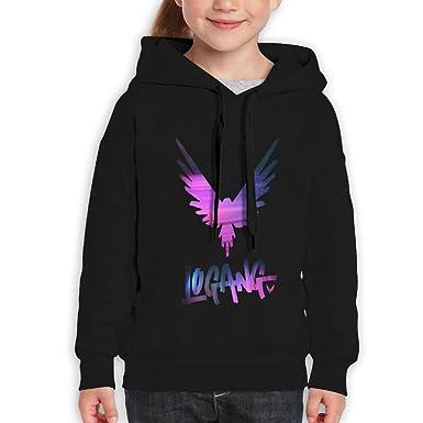 Amazon.com  Logan Paul Maverick Boys Or Girls Cotton Hoodie  Clothing 702b34df7