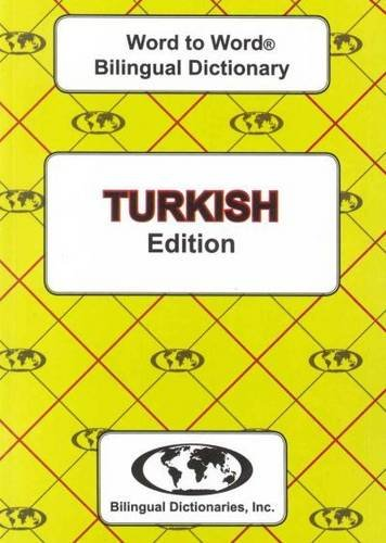 Download Turkish edition Word To Word Bilingual Dictionary PDF