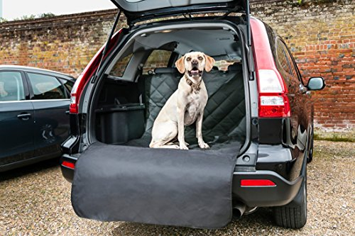 Bishopstone Pets Car Boot Liner With Extra Long Bumper