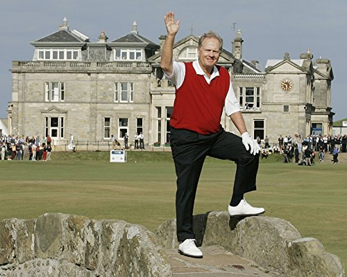 (Jack Nicklaus - The Golden Bear 8 x 10 * 8x10 GLOSSY Photo)