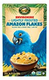 Envirokidz Organic Gluten-Free Cereal, Lightly Frosted Amazon Flakes, 14 Ounce Box (Pack of 6)