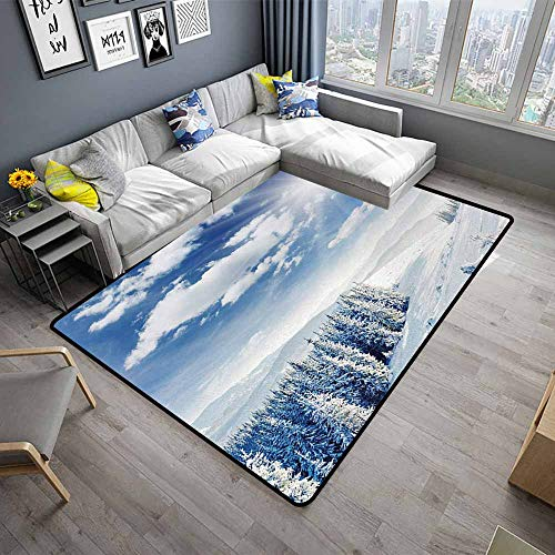 Winter,Kids Bedroom Mats Decorative 60