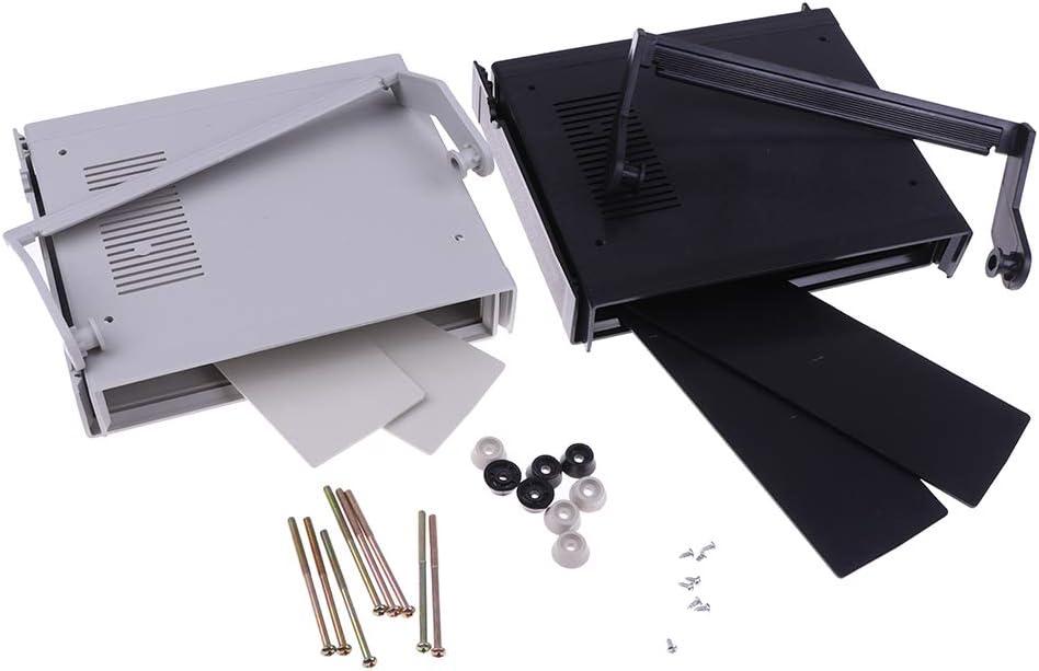 Black Waterproof Plastic Electronic Enclosure Project Box Black 200x175x70mm