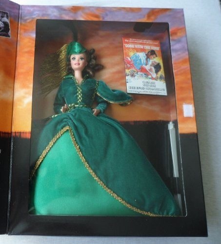 (Hollywood Legends Collection Barbie ( Barbie ) Doll Scarlett O'Hara in Green Drapery Dress Doll doll figure ( parallel import ) )